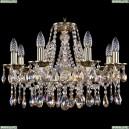 1613/8/200/GB/M701 Хрустальная подвесная люстра Bohemia Ivele Crystal (Богемия)