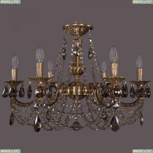 1702/6/250/C/FP/R731 Хрустальная подвесная люстра Bohemia Ivele Crystal (Богемия)