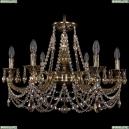 1702/6/250/C/GB/R701 Хрустальная подвесная люстра Bohemia Ivele Crystal