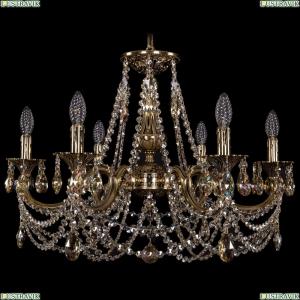 1702/6/250/C/GB/R701 Хрустальная подвесная люстра Bohemia Ivele Crystal (Богемия)