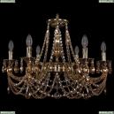 1702/6/250/C/GB/R721 Хрустальная подвесная люстра Bohemia Ivele Crystal