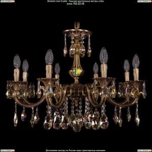 1702/8/265/A/FP/K701 Хрустальная подвесная люстра Bohemia Ivele Crystal (Богемия)
