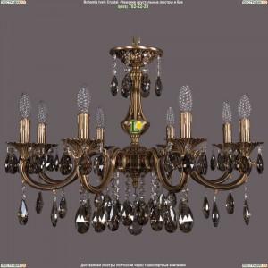 1702/8/265/A/FP/K731 Хрустальная подвесная люстра Bohemia Ivele Crystal (Богемия)