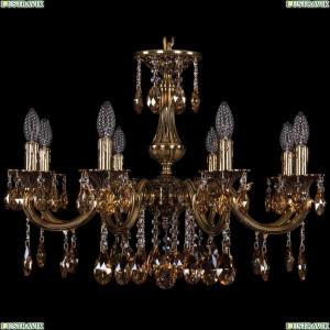 1702/8/250/A/GB/K721 Хрустальная подвесная люстра Bohemia Ivele Crystal (Богемия)