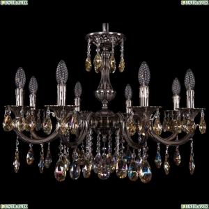 1702/8/250/A/NB/K701 Хрустальная подвесная люстра Bohemia Ivele Crystal (Богемия)