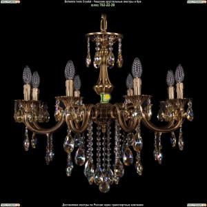1702/8/265/B/FP/K701 Хрустальная подвесная люстра Bohemia Ivele Crystal (Богемия)