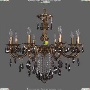 1702/8/265/B/FP/K731 Хрустальная подвесная люстра Bohemia Ivele Crystal (Богемия)