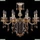 1702/8/250/B/GW/K721 Хрустальная подвесная люстра Bohemia Ivele Crystal (Богемия)