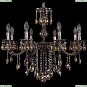 1702/8/250/B/NB/K701 Хрустальная подвесная люстра Bohemia Ivele Crystal (Богемия)
