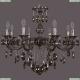 1702/8/250/B/NB/K731 Хрустальная подвесная люстра Bohemia Ivele Crystal (Богемия)