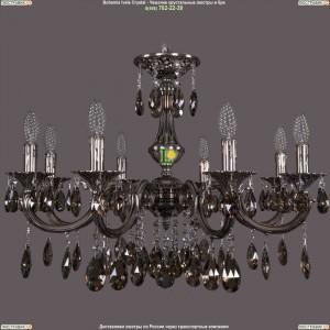 1702/8/265/A/NB/K731 Хрустальная подвесная люстра Bohemia Ivele Crystal (Богемия)