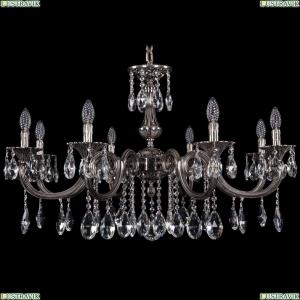 1702/8/300/A/NB Хрустальная подвесная люстра Bohemia Ivele Crystal (Богемия)