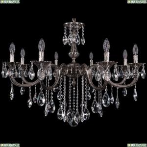 1702/8/300/B/NB Хрустальная подвесная люстра Bohemia Ivele Crystal (Богемия)