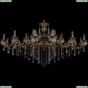 1709/32/410+300/B/GB Хрустальная подвесная большая люстра Bohemia Ivele Crystal (Богемия)