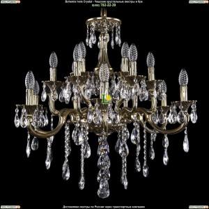 1716/8+4+4/265/B/GB Хрустальная подвесная люстра Bohemia Ivele Crystal (Богемия)