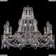 1771/10/190/C/NB Хрустальная подвесная люстра Bohemia Ivele Crystal (Богемия)