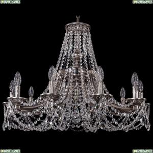 1771/10/270/C/NB Хрустальная подвесная люстра Bohemia Ivele Crystal (Богемия)