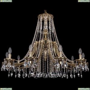 1771/10/340/A/GB Хрустальная подвесная люстра Bohemia Ivele Crystal (Богемия)