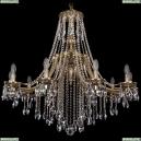 1771/10/340/B/GB Хрустальная подвесная люстра Bohemia Ivele Crystal (Богемия)