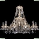 1771/12/340/A/GW Хрустальная подвесная люстра Bohemia Ivele Crystal (Богемия)