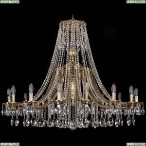 1771/16/410/A/GB Хрустальная подвесная люстра Bohemia Ivele Crystal (Богемия)