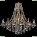 1771/16/410/B/GB Хрустальная подвесная люстра Bohemia Ivele Crystal (Богемия)