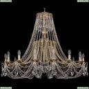 1771/16/410/C/GB Хрустальная подвесная люстра Bohemia Ivele Crystal (Богемия)