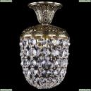 1779/14/GB Хрустальная потолочная люстра Bohemia Ivele Crystal (Богемия)