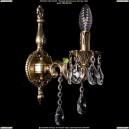 1800B/1/CK125IV/B/GB Хрустальное бра Bohemia Ivele Crystal (Богемия)