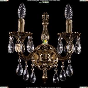 1800/2/181/B/GB Хрустальное бра Bohemia Ivele Crystal (Богемия)