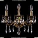1800/3/181/A/GB Хрустальное бра Bohemia Ivele Crystal (Богемия)