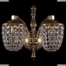 1872/2/150/GB Хрустальное бра Bohemia Ivele Crystal