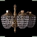 1872/3/150/FP Хрустальное бра Bohemia Ivele Crystal