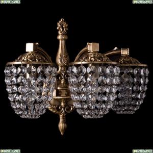 1872/3/150/FP Хрустальное бра Bohemia Ivele Crystal (Богемия)