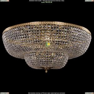 1910/100/Z/GD Хрустальная потолочная люстра Bohemia Ivele Crystal (Богемия)