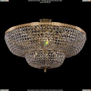 1910/80/Z/GD Хрустальная потолочная люстра Bohemia Ivele Crystal (Богемия)