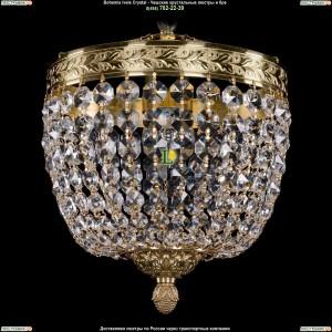 1911/20/GD Хрустальная потолочная люстра Bohemia Ivele Crystal (Богемия)