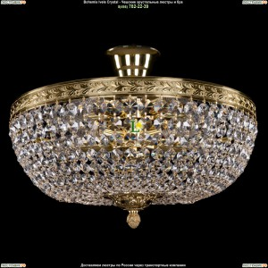 1911/40/Z/GD Хрустальная потолочная люстра Bohemia Ivele Crystal (Богемия)