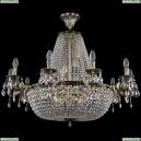 2022/95-70/GB Хрустальная потолочная люстра Bohemia Ivele Crystal