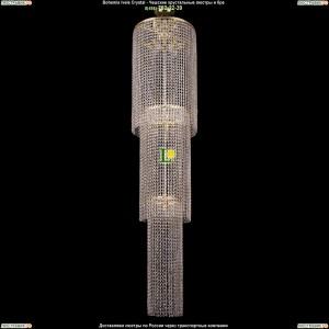 2130/40-170/GD Хрустальная люстра большая каскадная Bohemia Ivele Crystal (Богемия)