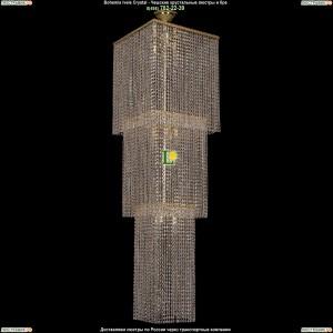 2180/45-160/GD Хрустальная люстра большая каскадная Bohemia Ivele Crystal (Богемия)