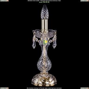 5700/127/G/Drops Хрустальная настольная лампа  Bohemia Ivele Crystal (Богемия)