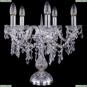 5703/5/141-39/Ni Хрустальная настольная лампа  Bohemia Ivele Crystal (Богемия)