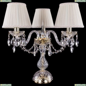 5706/3/141/G/SH3A Хрустальная настольная лампа  Bohemia Ivele Crystal (Богемия)