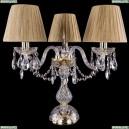 1406L/3/141-39/G/SH7-160 Хрустальная настольная лампа Bohemia Ivele Crystal (Богемия)