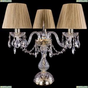 5706/3/141-39/G/SH7 Хрустальная настольная лампа  Bohemia Ivele Crystal (Богемия)