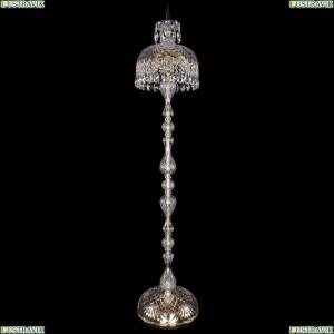5877/30-150/G Хрустальный торшер с большим хрустальным абажуром Bohemia Ivele Crystal (Богемия)