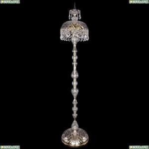 5877/30-150/G/Leafs Хрустальный торшер с большим хрустальным абажуром Bohemia Ivele Crystal (Богемия)