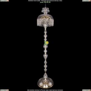 5877/30-150/G/R14 Хрустальный торшер Bohemia Ivele Crystal (Богемия)