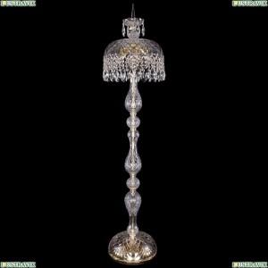 5877/35-150/G Хрустальный торшер с большим хрустальным абажуром Bohemia Ivele Crystal (Богемия)